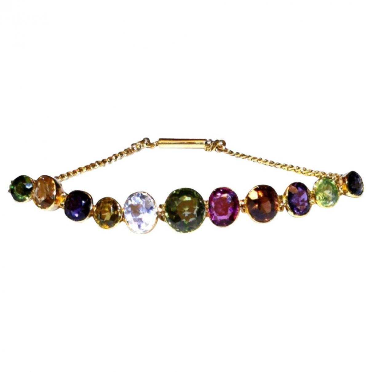 Hatton Garden - Bracelet   pour femme en or jaune - dore