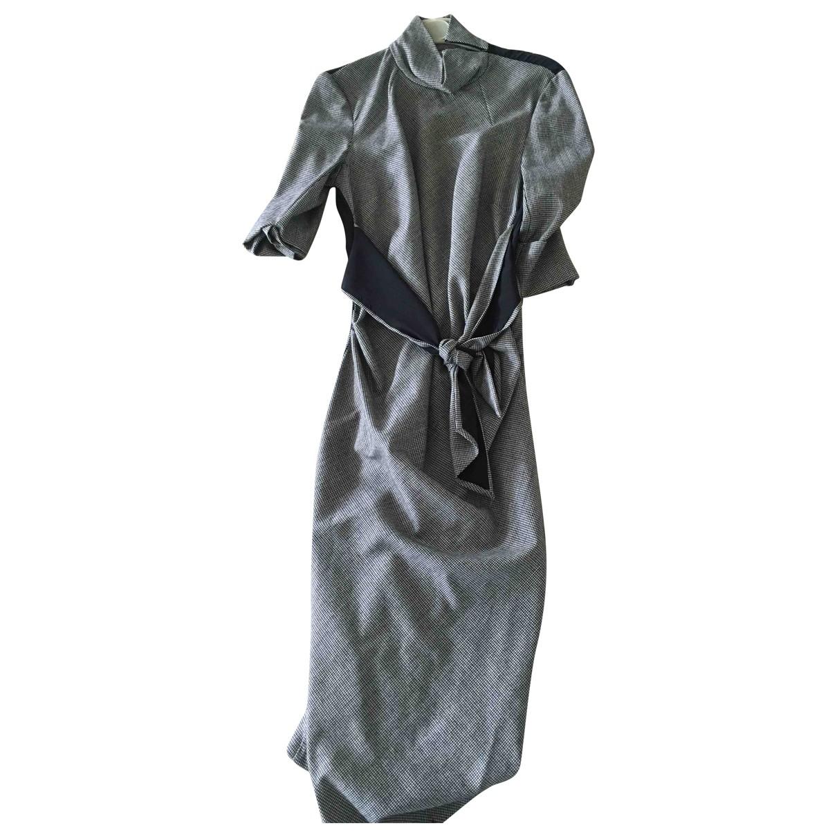 Sport Max - Robe   pour femme en coton - marron