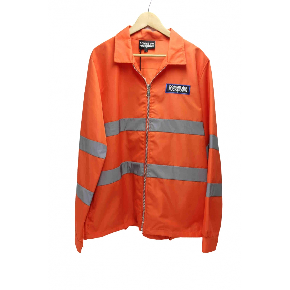 - Vestes.Blousons Epaulettes pour homme - orange
