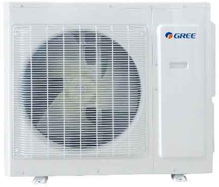 MULTIU24HP230V1DO Multi-Zone Ductless Mini Split Outdoor Unit with 22000 BTU Cooling Capacity  26000 BTU Heating Capacity  G10 DC Inverter Technology