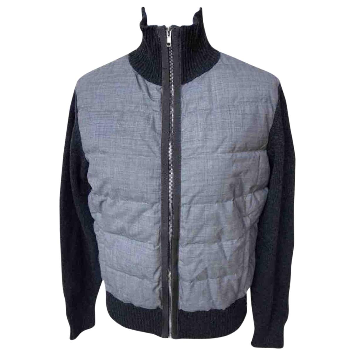 Moncler - Vestes.Blousons   pour homme en laine - gris