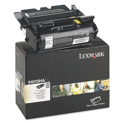 Lexmark 64015HA Original Black Return Program Toner Cartridge High Yield