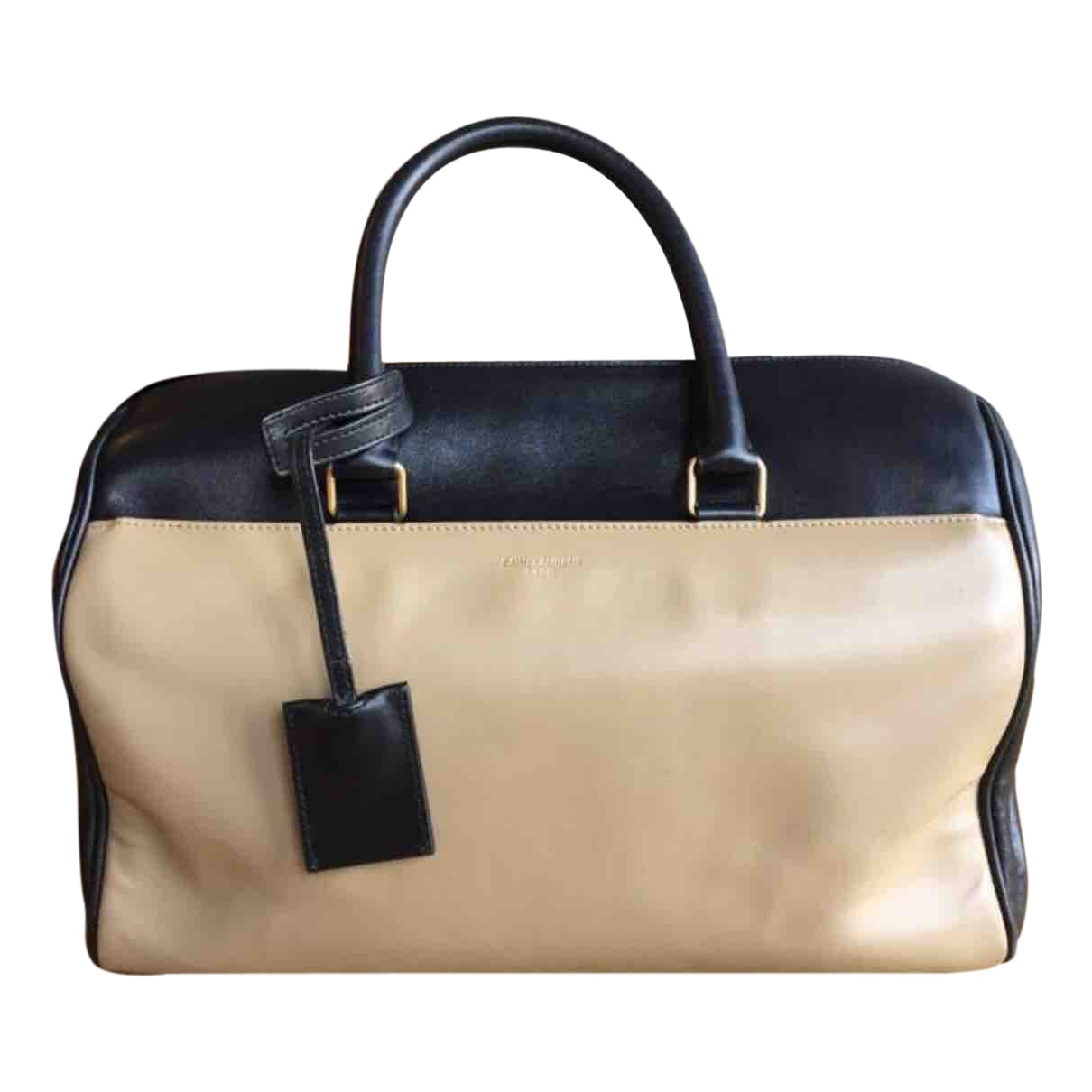 Saint Laurent Duffle Beige Leather handbag for Women \N
