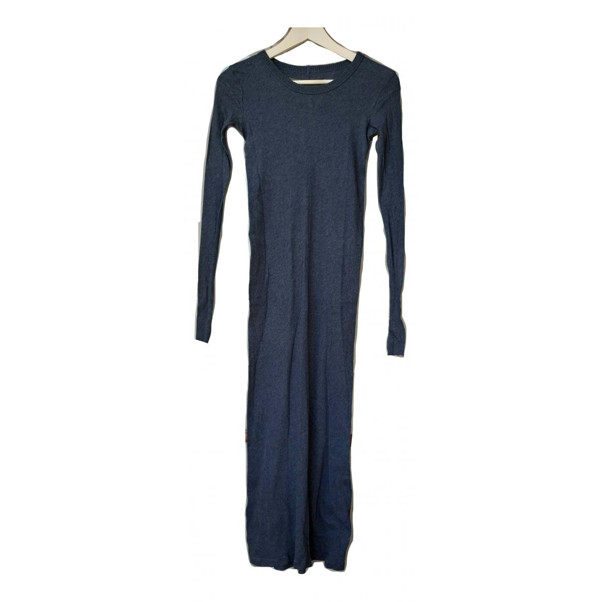 Enza Costa \N Kleid in  Blau Viskose