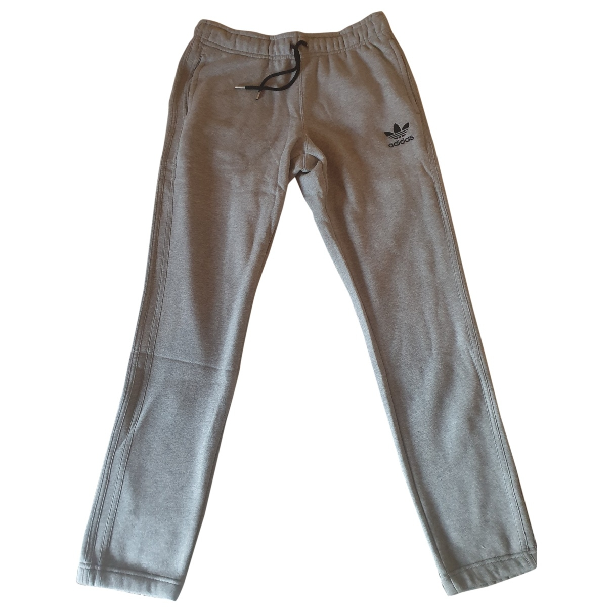 Adidas \N Grey Cotton Trousers for Men L International