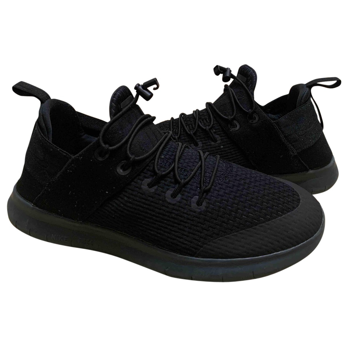 Nike Free Run Black Trainers for Women 38 EU