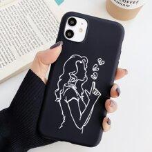 Figure Graphic iPhone Case