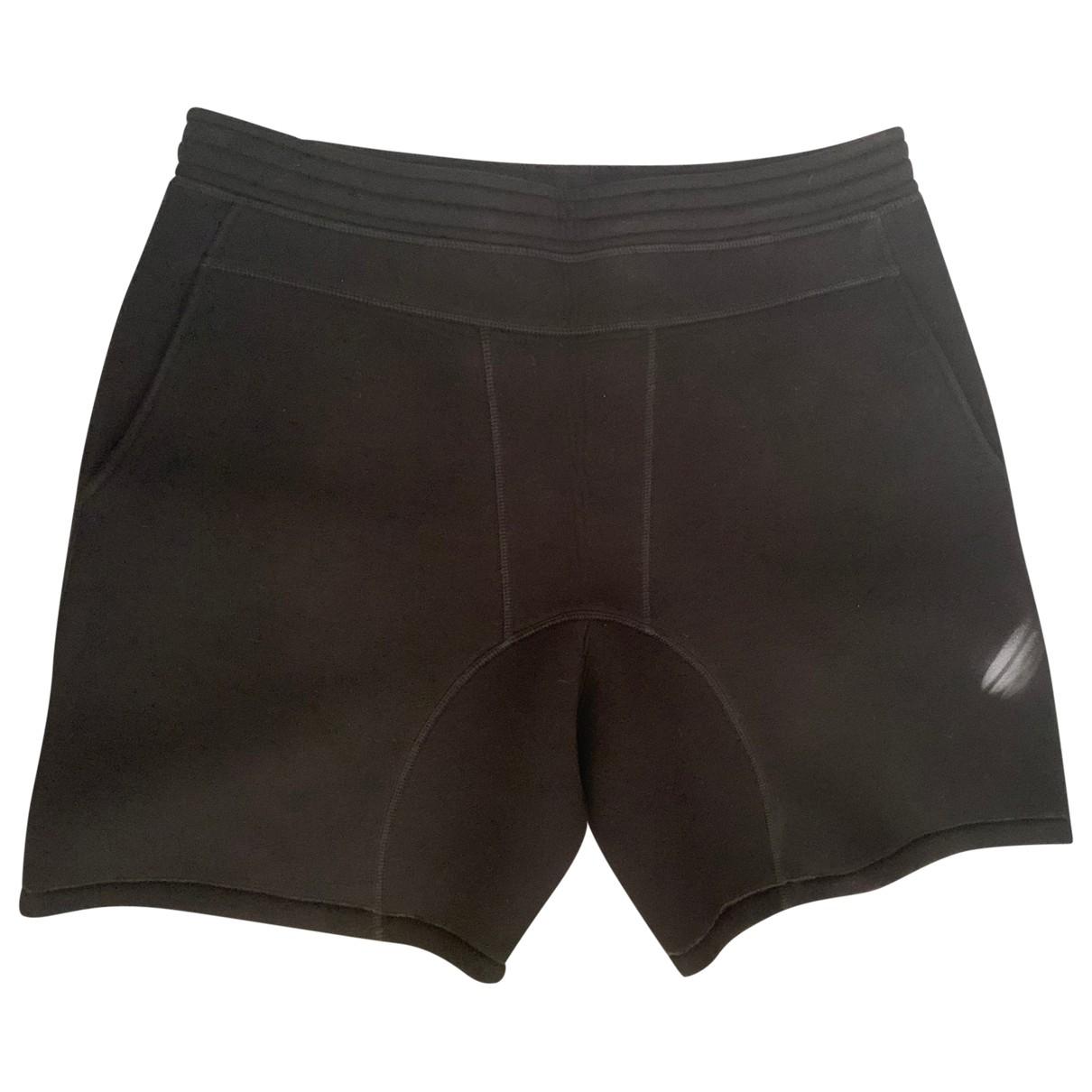 Neil Barrett \N Shorts in  Schwarz Viskose