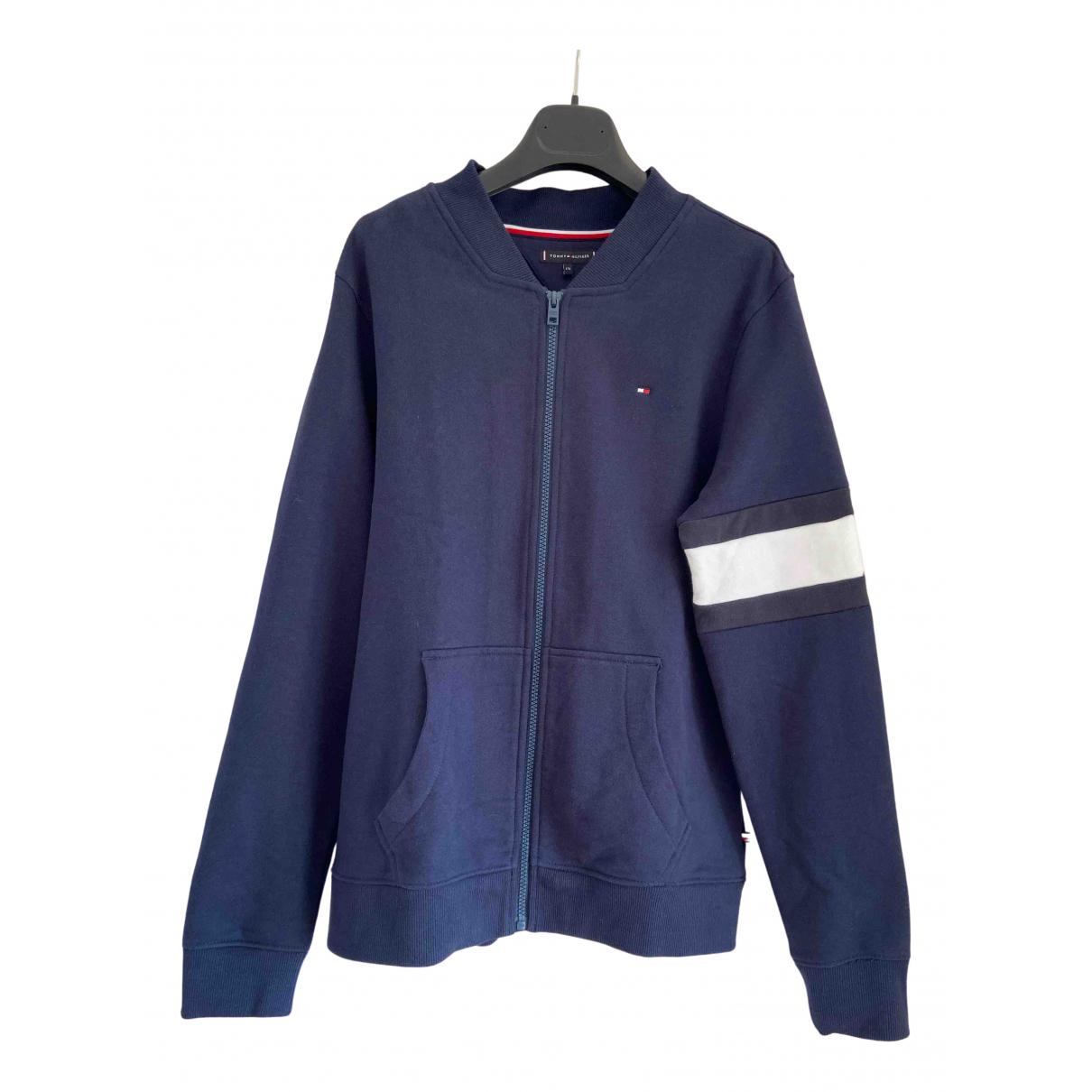 Tommy Hilfiger N Blue Cotton Knitwear & Sweatshirts for Men S International