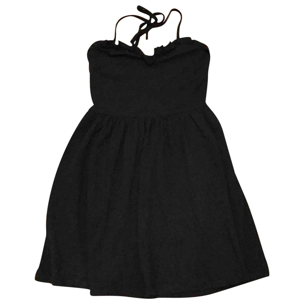 Asos \N Black Cotton - elasthane dress for Women 38 FR