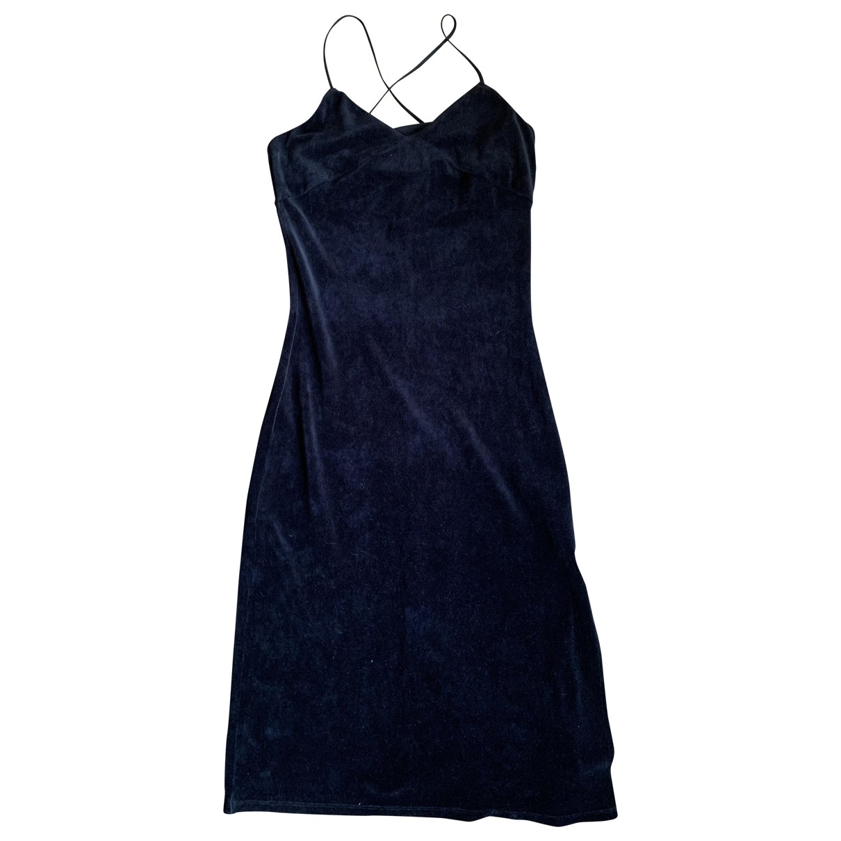 Juicy Couture \N Kleid in  Schwarz Samt