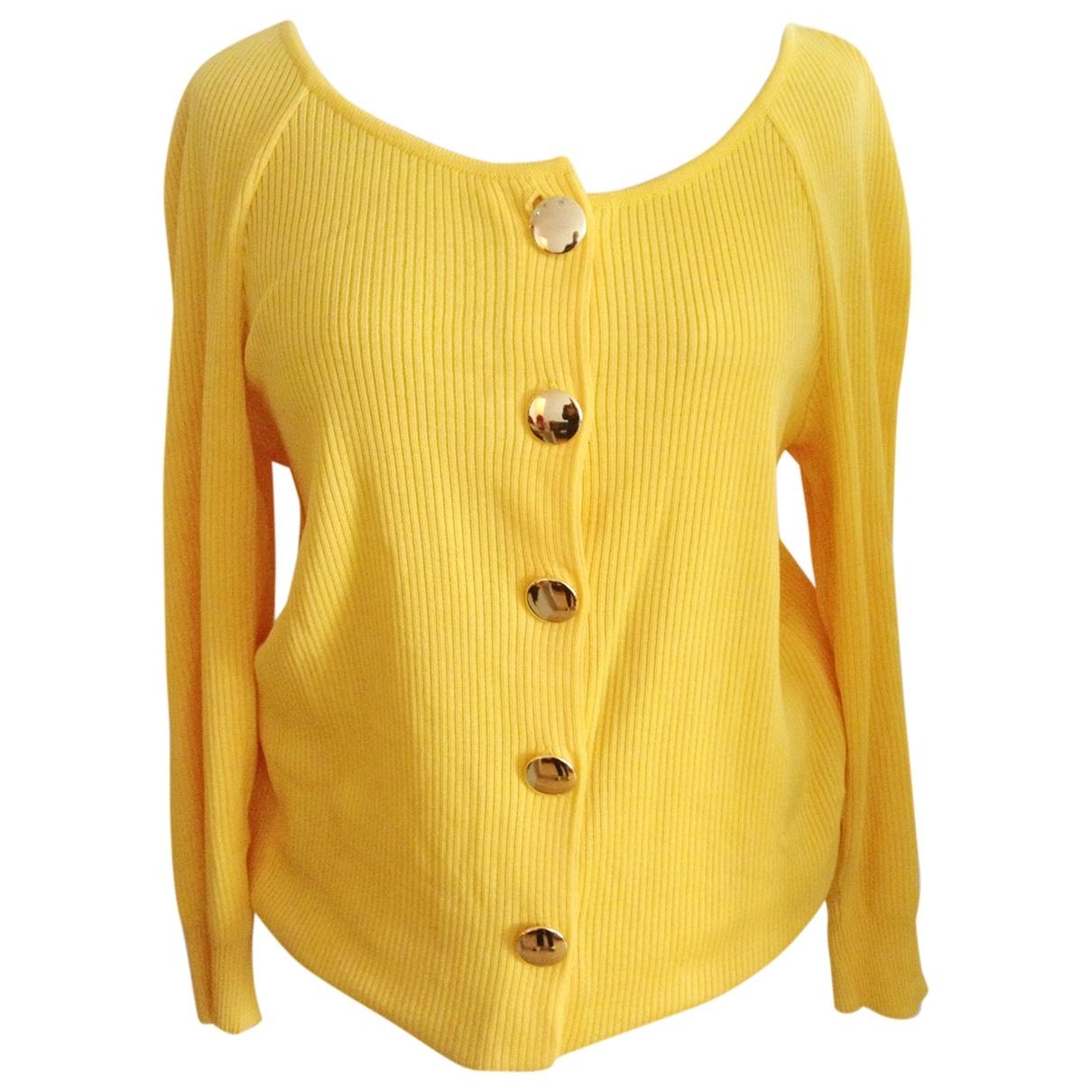 Jean Patou \N Pullover in  Gelb Baumwolle