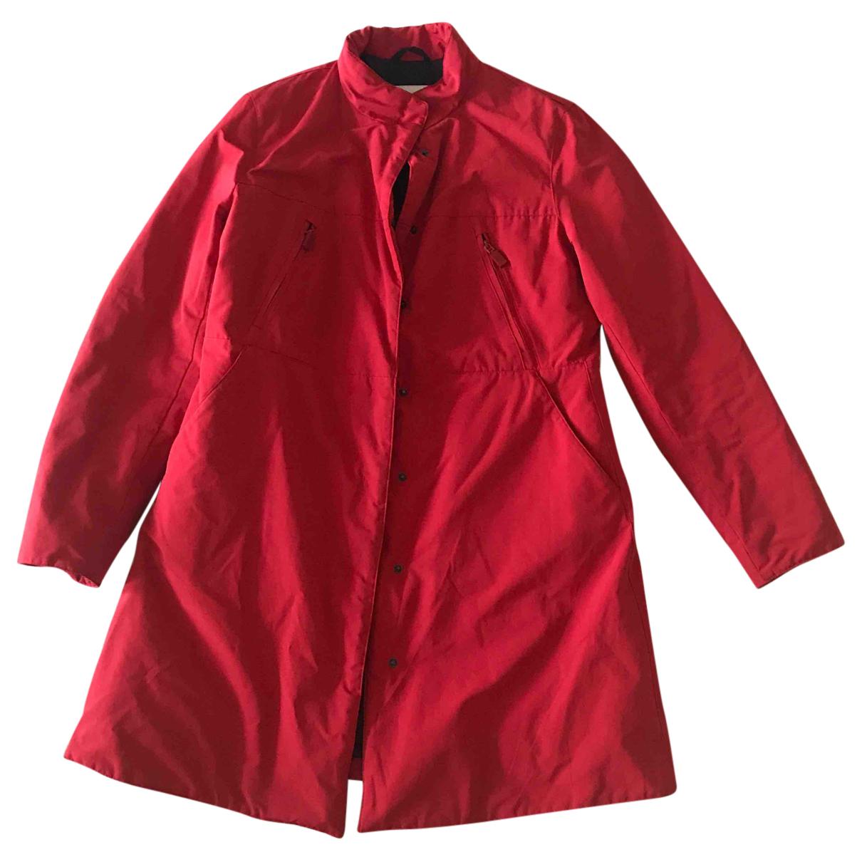 Aspesi \N Jacke in  Rot Baumwolle
