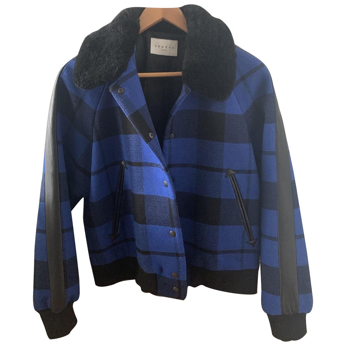 Sandro - Veste   pour femme en laine