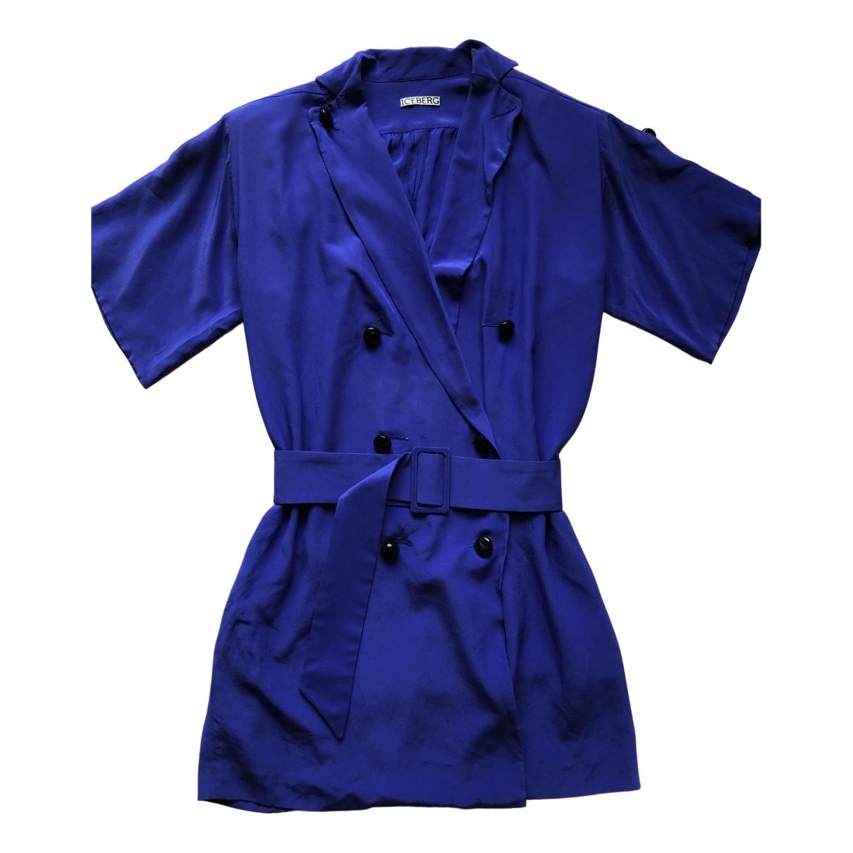 Iceberg - Robe   pour femme - bleu