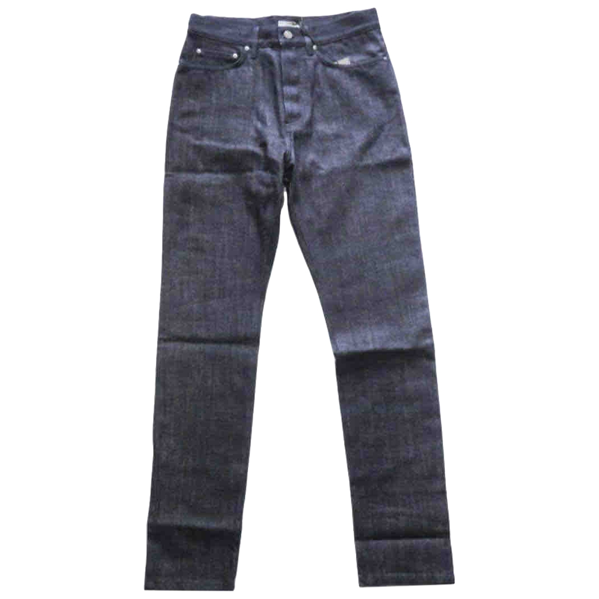 Bottega Veneta \N Navy Cotton Jeans for Men 42 FR