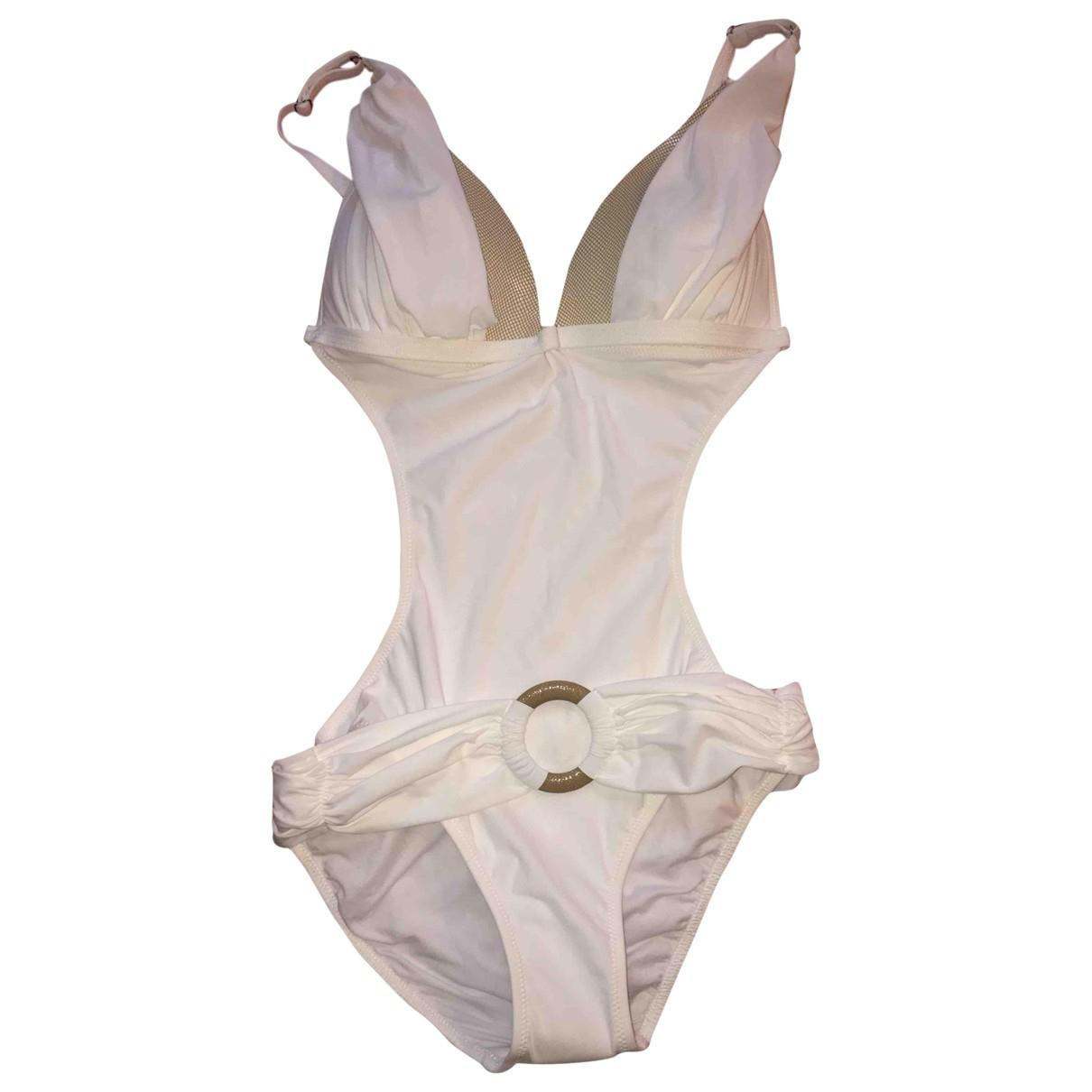Zeki \N White Lycra Swimwear for Women 38 FR