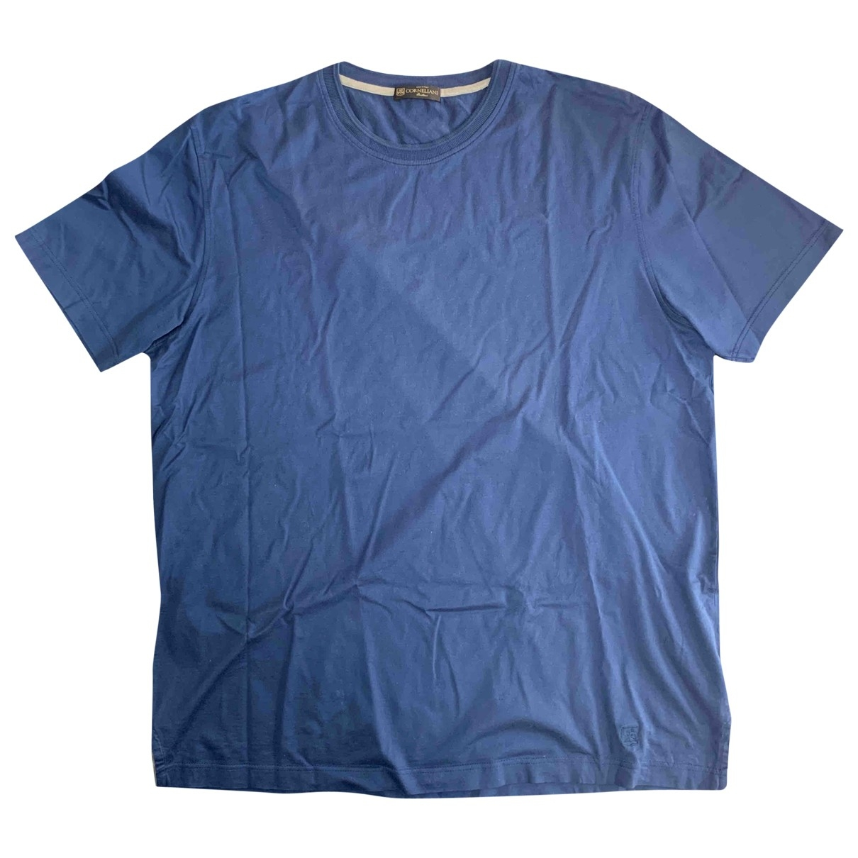 Corneliani \N Blue Cotton T-shirts for Men XXL International