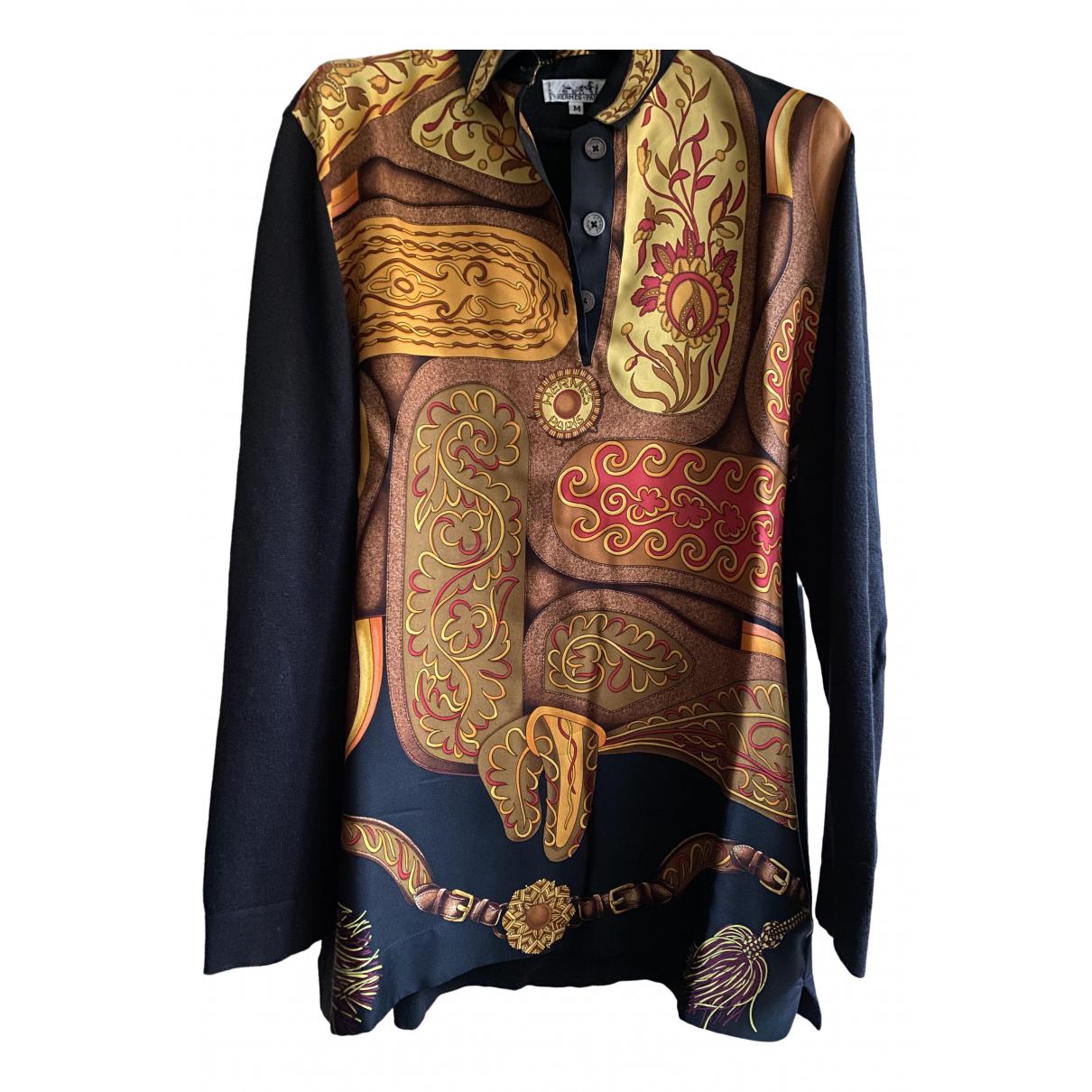 Hermès \N Black Silk Knitwear for Women M International