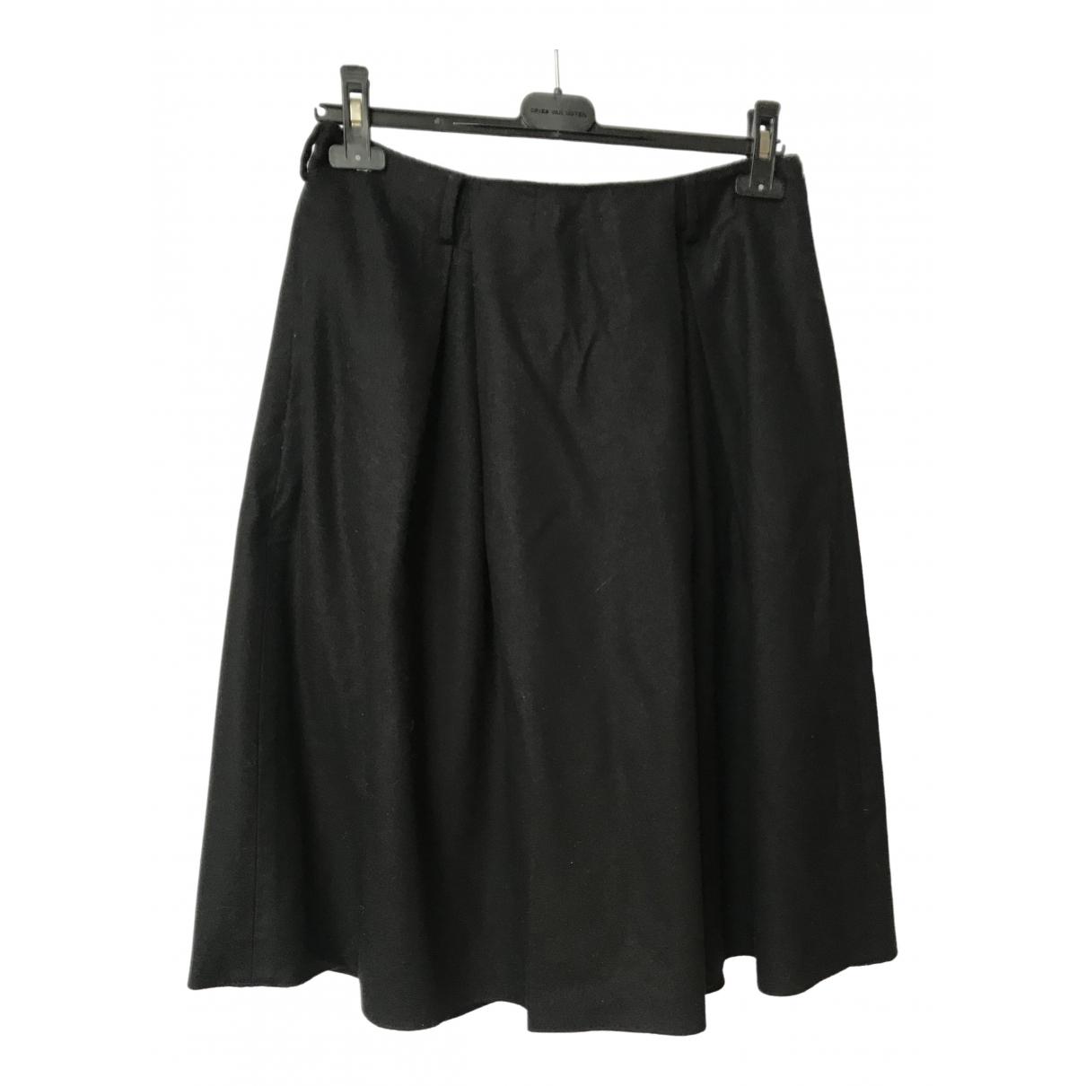 Sofie D'hoore \N Blue Wool skirt for Women 38 FR