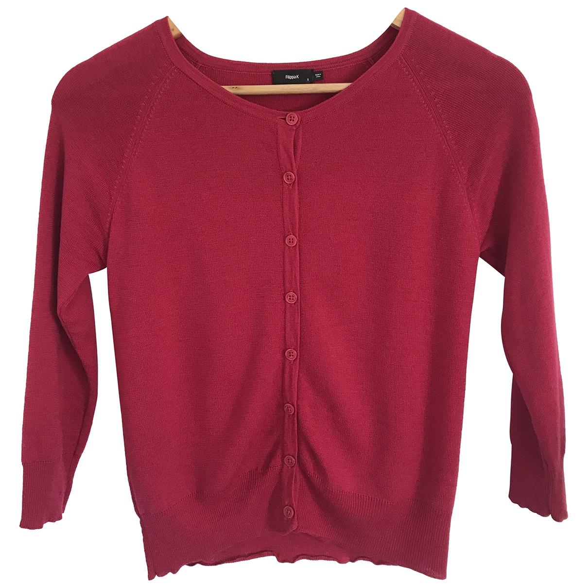 Filippa K - Pull   pour femme en laine - rose