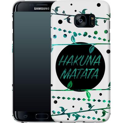 Samsung Galaxy S7 Edge Smartphone Huelle - Hakuna Matata von Statements