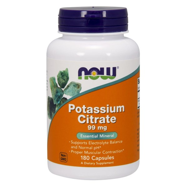 Potassium Citrate 180 Caps by Now Foods
