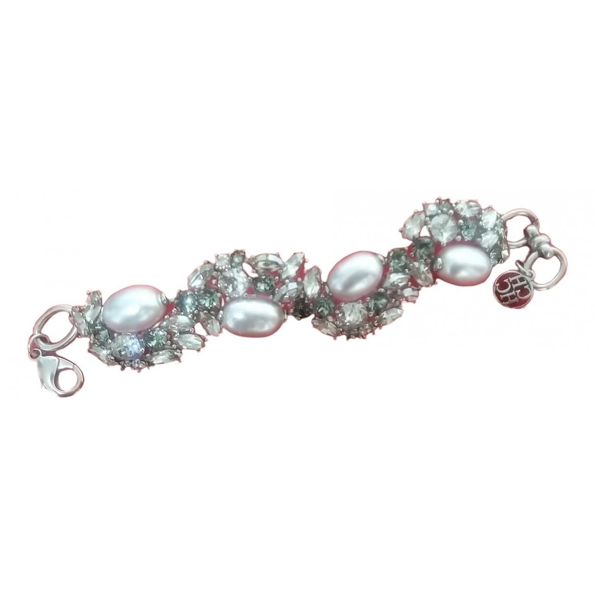 Carolina Herrera \N Armband in  Silber Perlen