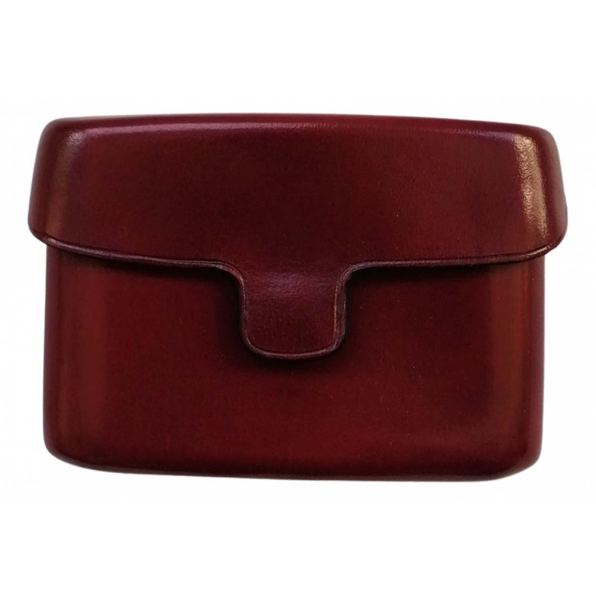 Lemaire N Burgundy Leather Purses, wallet & cases for Women N