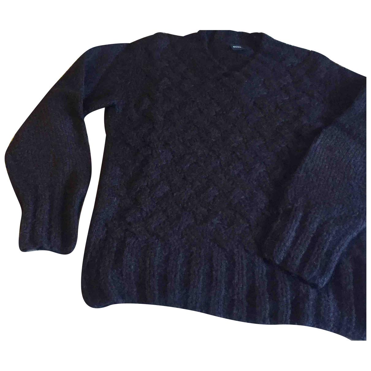 Boss \N Pullover.Westen.Sweatshirts  in  Lila Wolle
