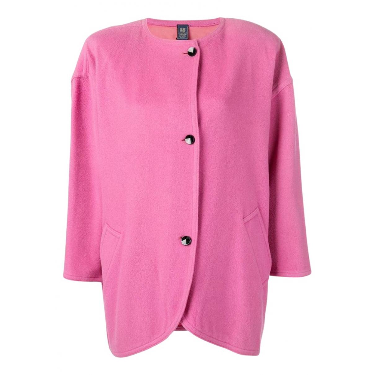 Emanuel Ungaro N Pink Wool jacket for Women 10 US