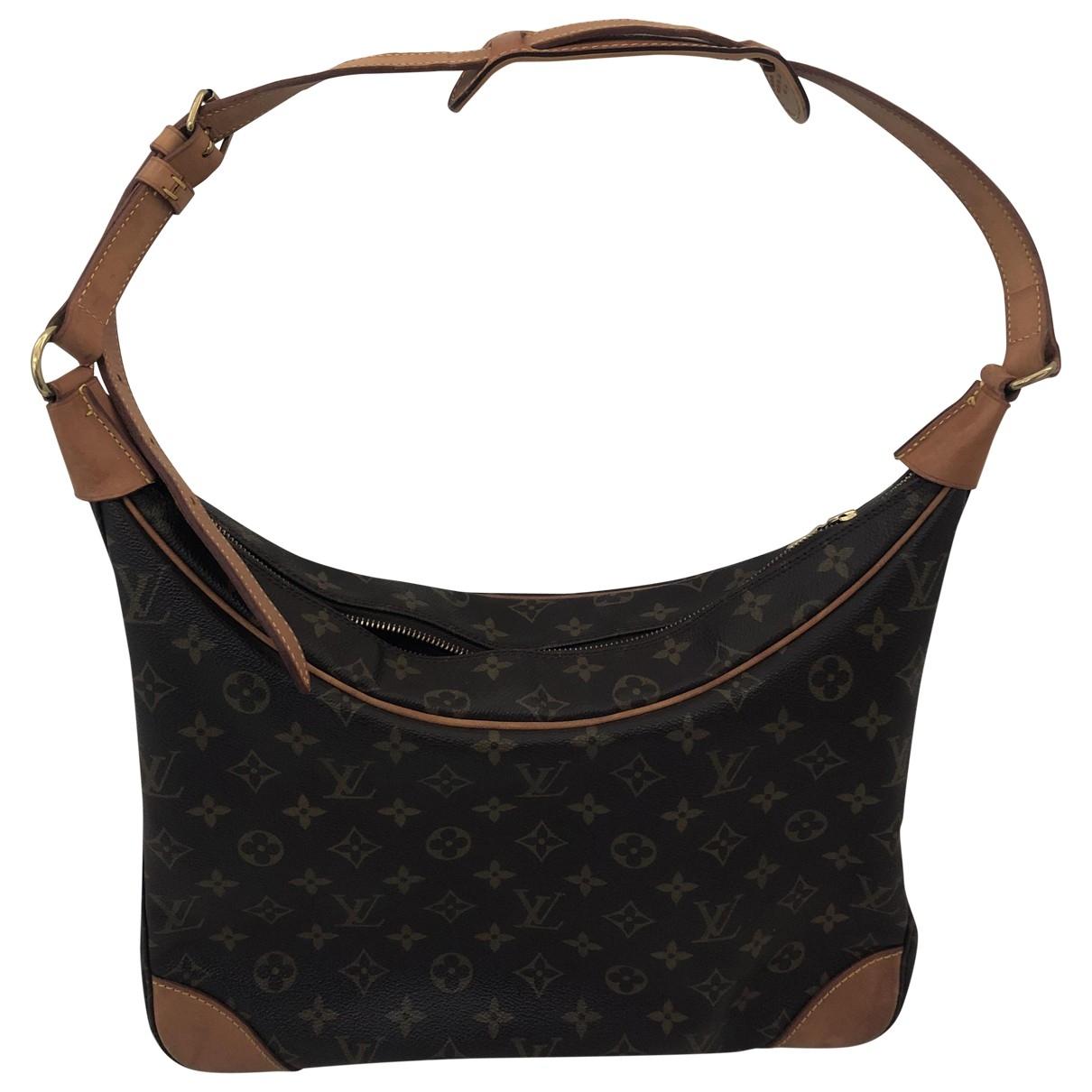 Louis Vuitton - Sac a main Bagatelle Vintage  pour femme en toile - marron