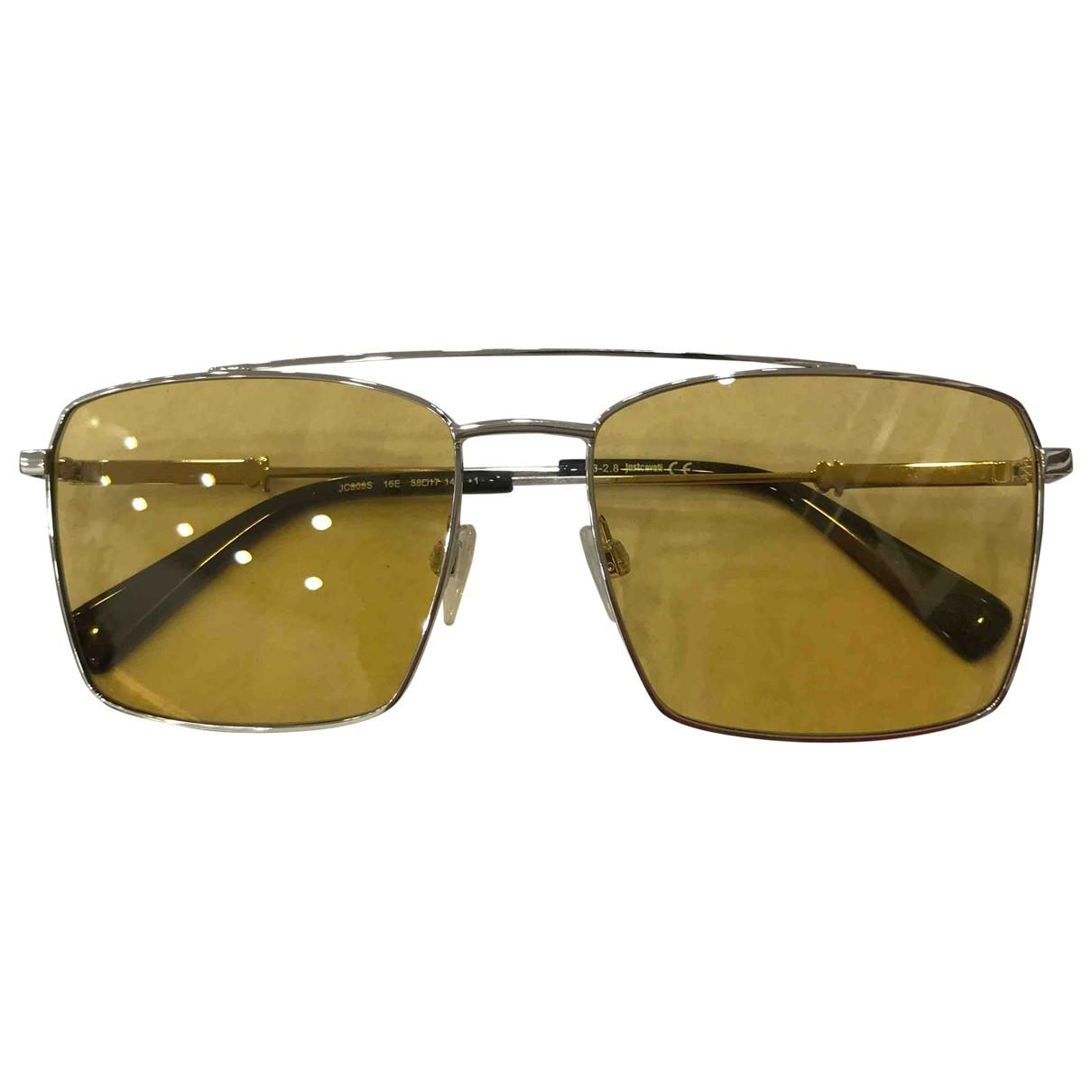 Just Cavalli \N Sonnenbrillen in  Gelb Metall