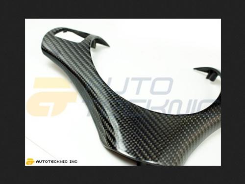 AutoTecknic Carbon Fiber Steering Wheel Trim BMW E90   E91 Sedan 3 Series 06-07