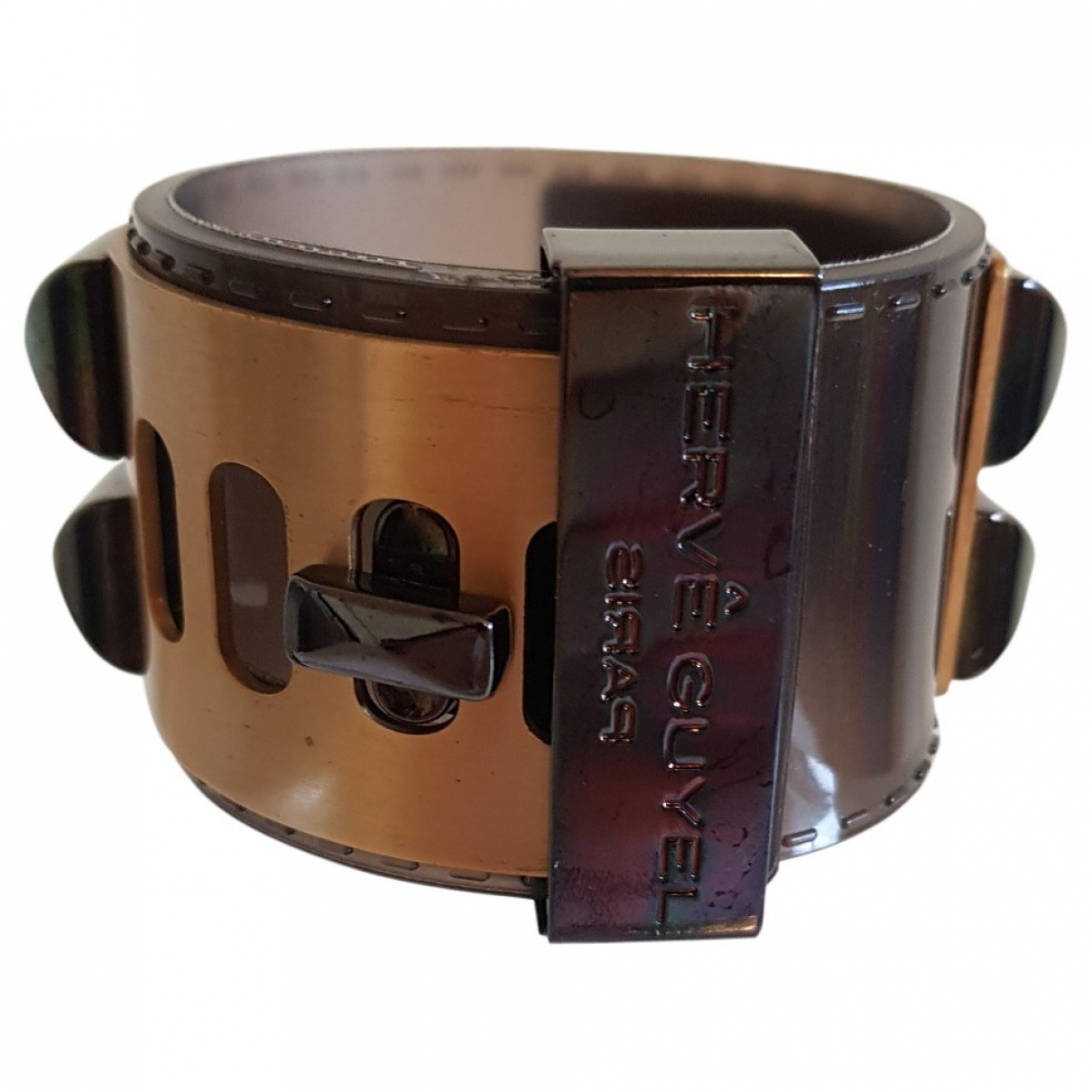 Non Signe / Unsigned \N Armband in Metall