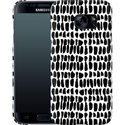 Samsung Galaxy S7 Smartphone Huelle - Flecked von Jenna Kunnas