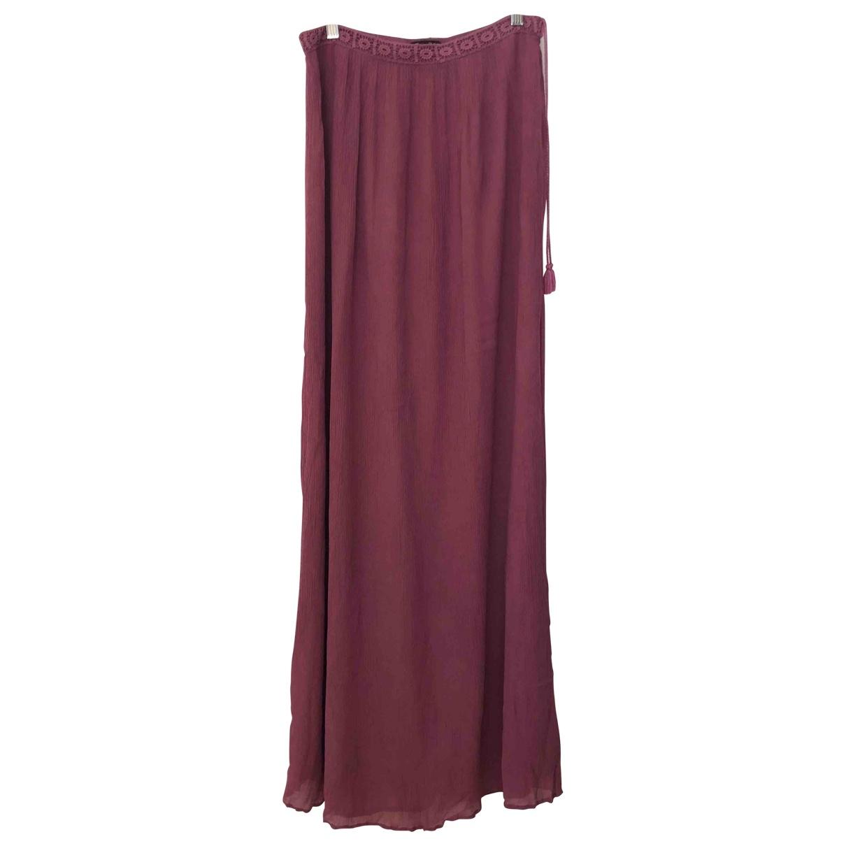 Massimo Dutti \N Pink skirt for Women S International