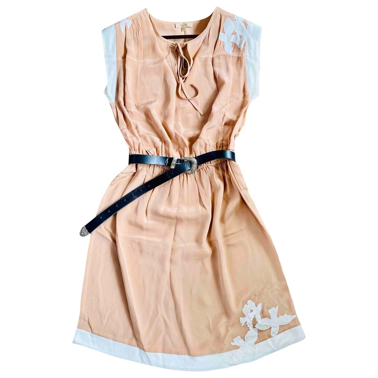 Vestido midi de Seda Bel Air
