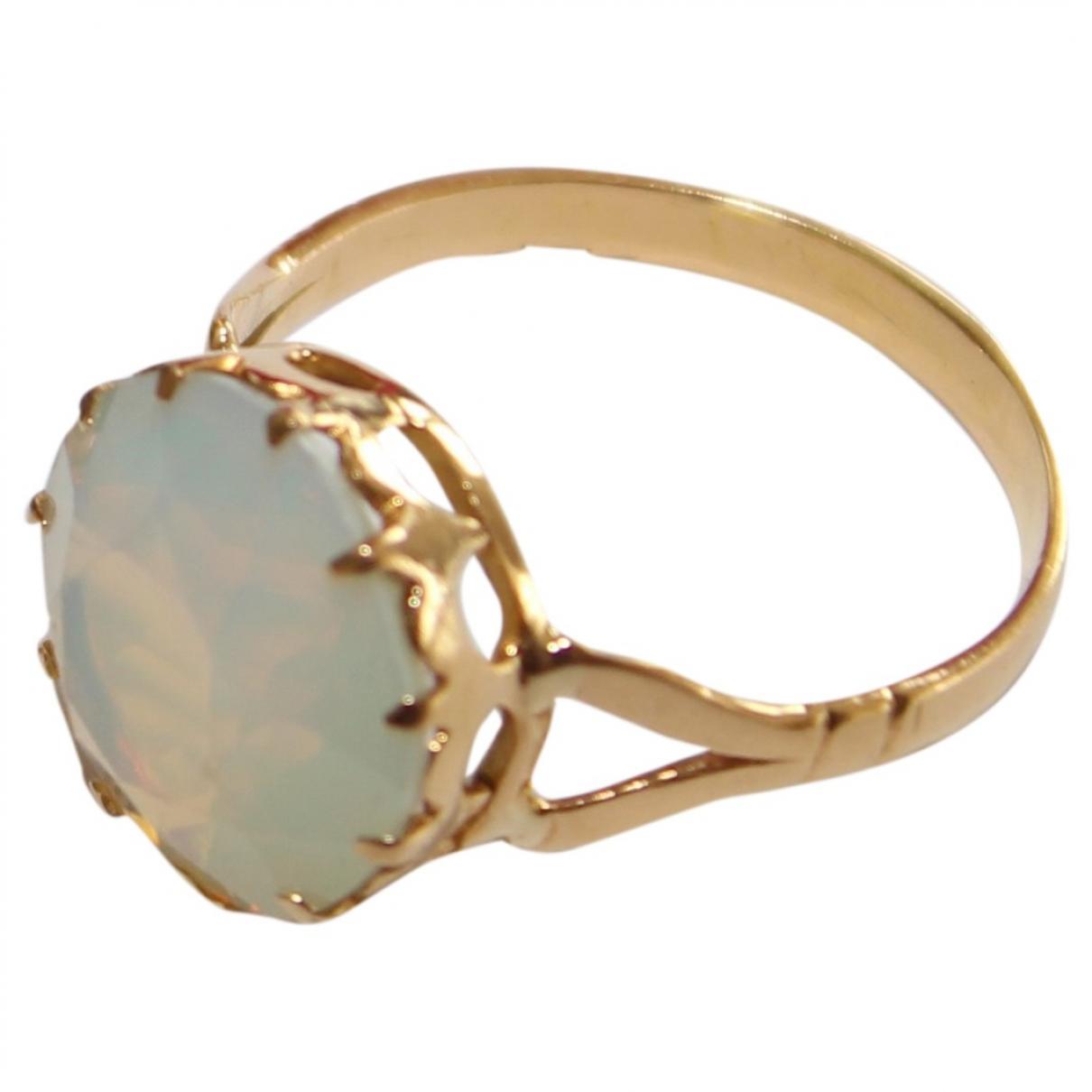 - Bague Opale pour femme en or rose - dore