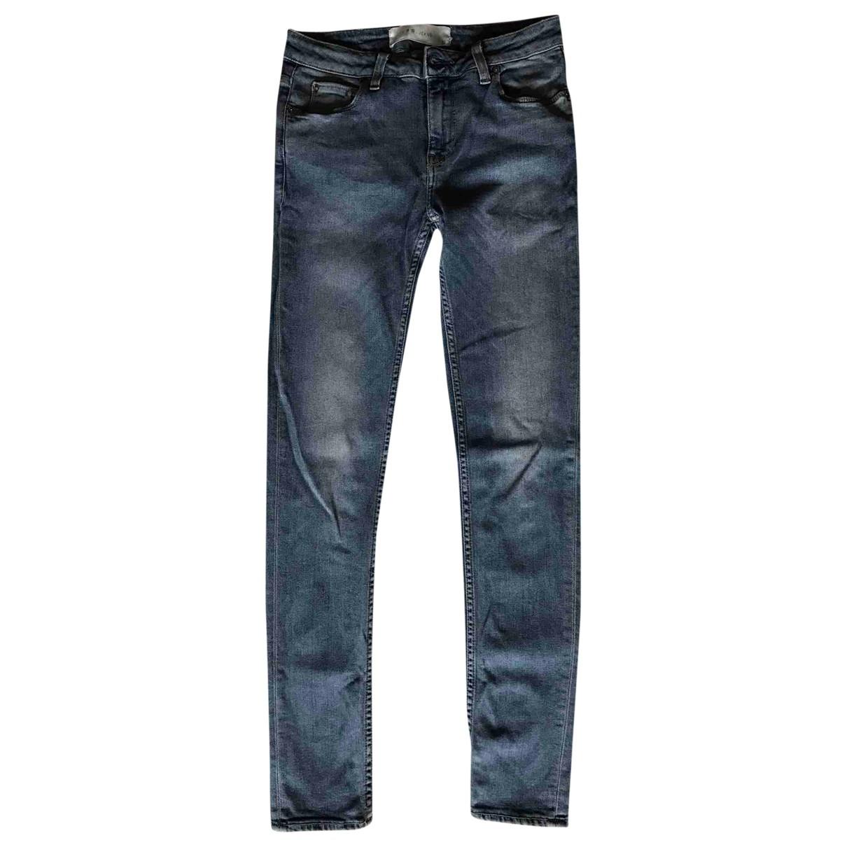 Iro \N Blue Denim - Jeans Jeans for Women 27 US