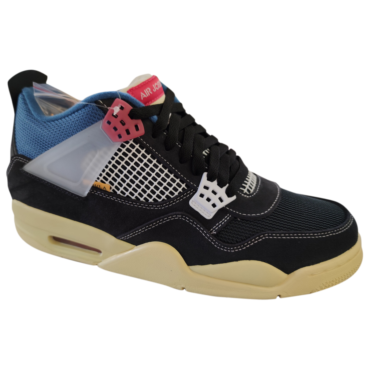 Jordan Air Jordan 4 Sneakers in  Anthrazit Veloursleder