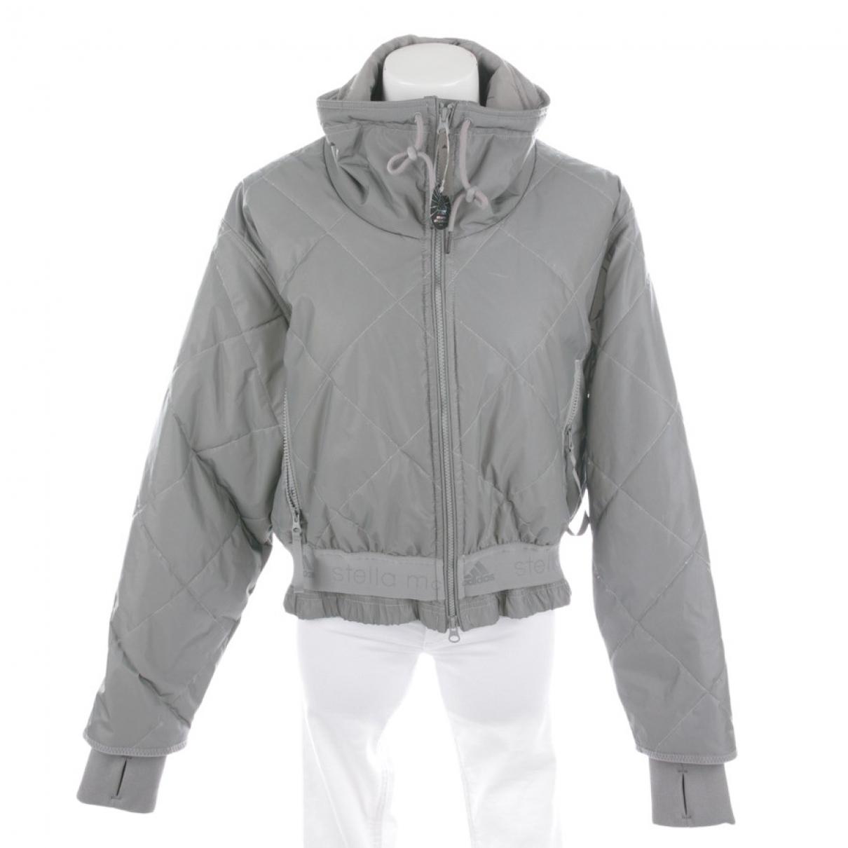 Stella Mccartney Pour Adidas \N Jacke in  Grau Synthetik