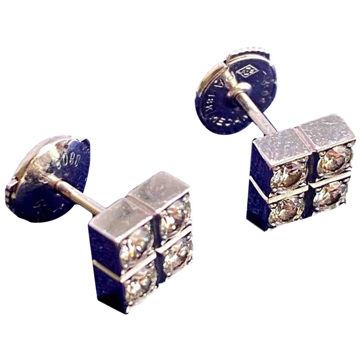 Cartier \N White White gold Earrings for Women \N