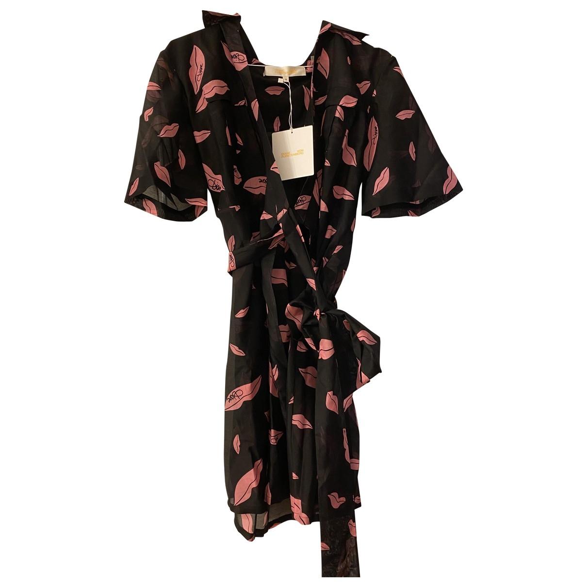 Diane Von Furstenberg \N Pink Cotton dress for Women M International