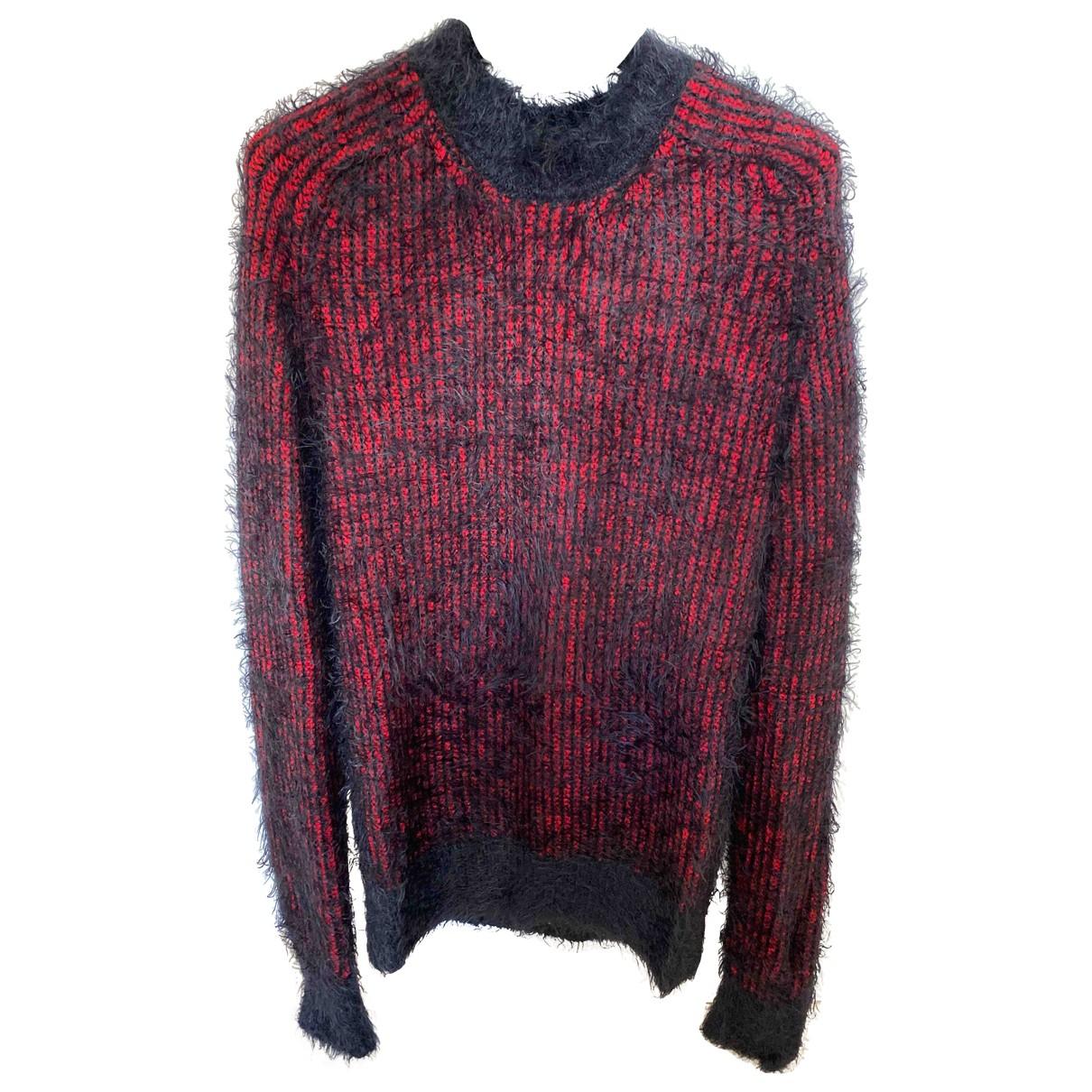 Saint Laurent \N Pullover.Westen.Sweatshirts  in  Rot Wolle
