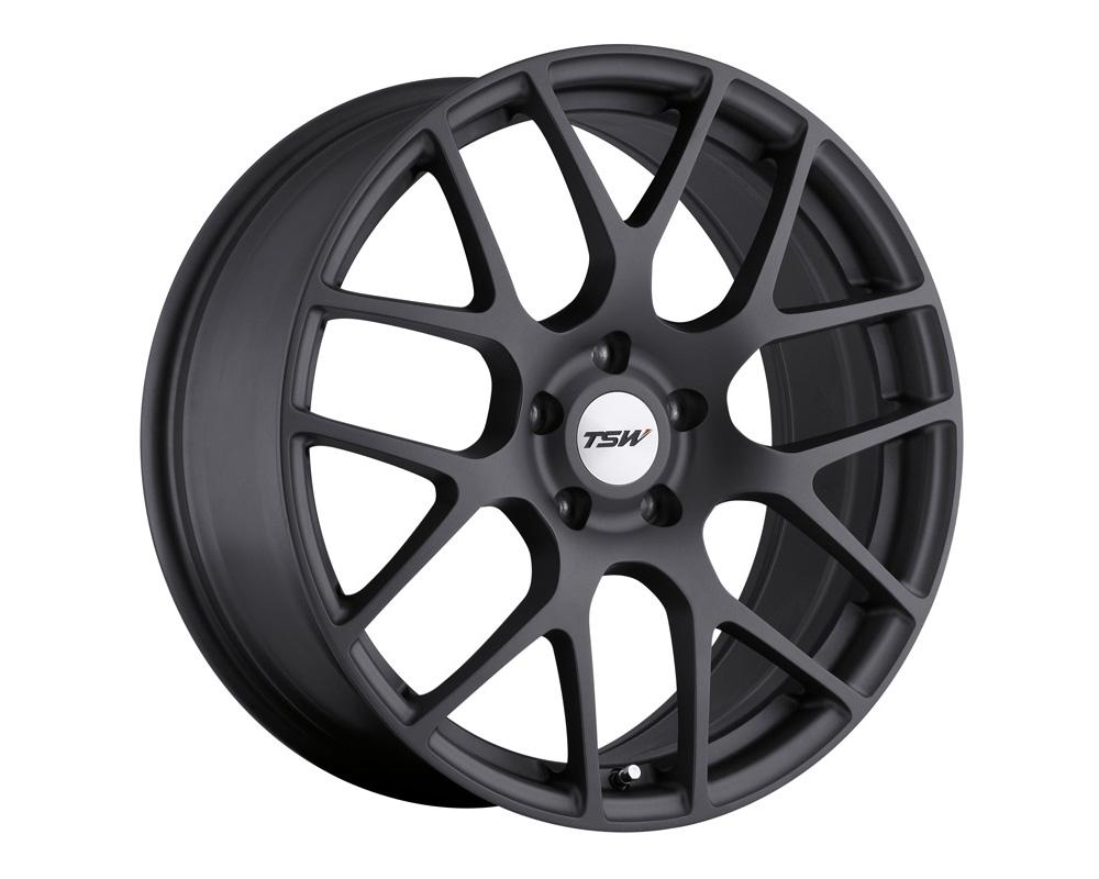 TSW Nurburgring Wheel 21x10.5 5x112 32mm Matte Gunmetal