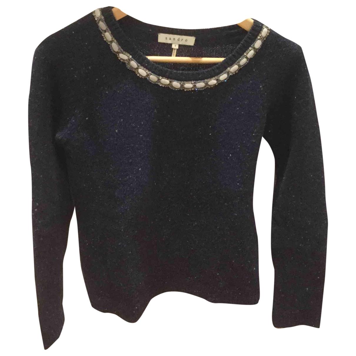 Sandro \N Blue Cotton Knitwear for Women 1 US