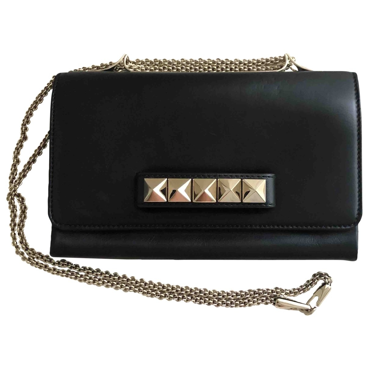 Valentino Garavani Vavavoom Black Leather handbag for Women \N