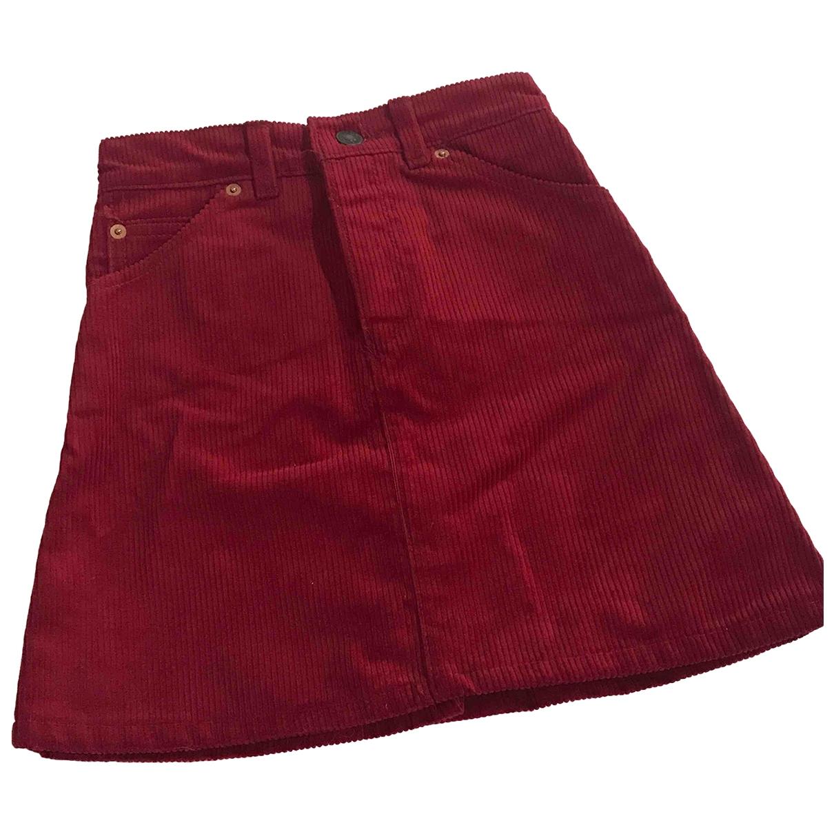 Levis - Jupe   pour enfant en coton - rouge