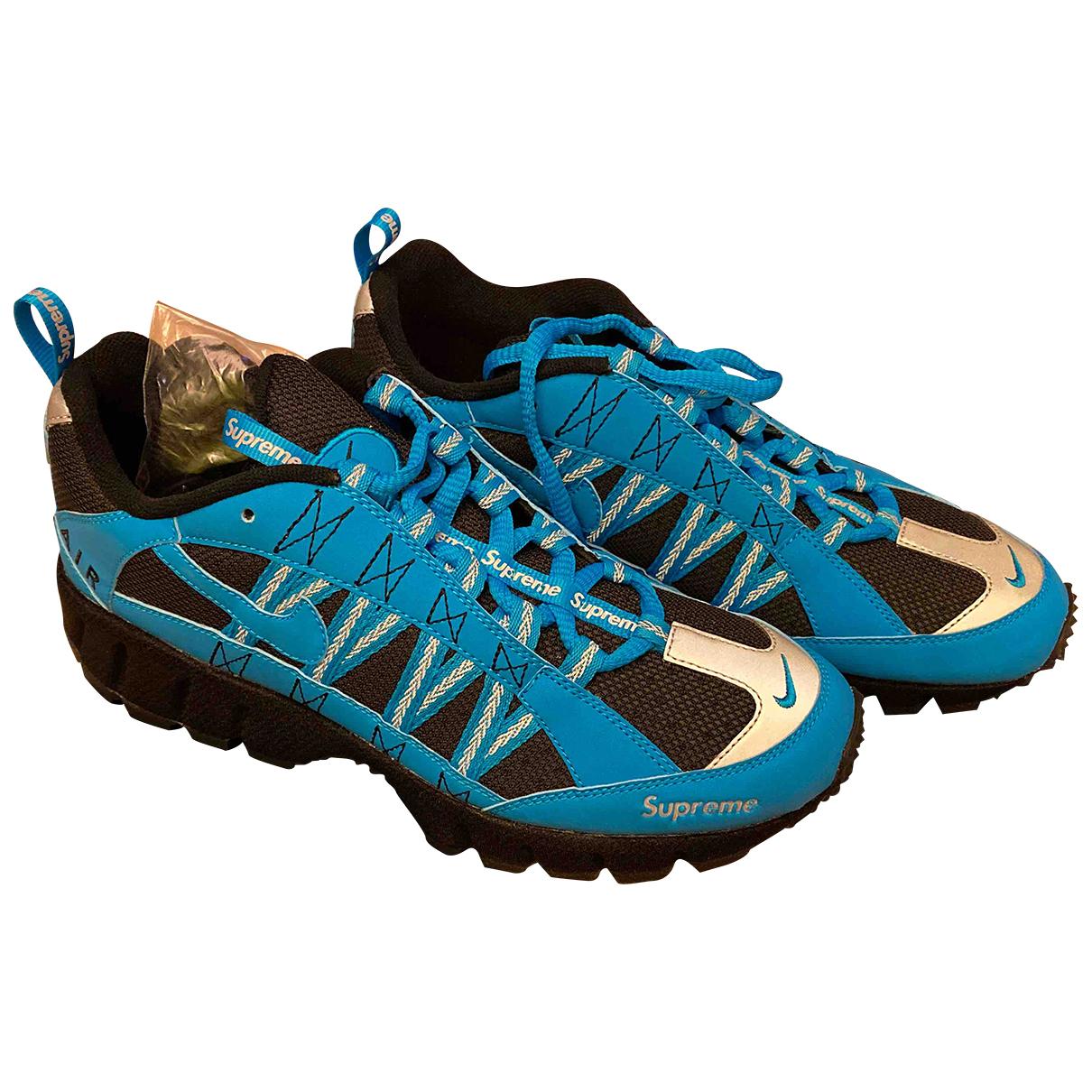 Nike X Supreme \N Blue Cloth Trainers for Men 43 EU